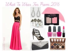"""""""What To Wear For Prom 2016!"""" by camillelavie ❤ liked on Polyvore featuring Mode, OPI, Stila, MAC Cosmetics, NYX und NARS Cosmetics"""