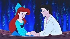 Disney Princess Screencaps - Princess Ariel & Prince Eric - Disney ...