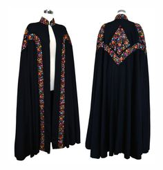 Extraordinary Vintage 1930s Black Embroidered by VintageDevotion Women's vintage fashion clothing