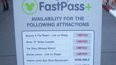 Top 10 mistakes FastPass+ Attraction Status Signs, Disneys Hollywood Studio, Walt Disney World Disney World Restaurants, Walt Disney World Vacations, Disney Travel, Disney Vacation Planning, Disney World Planning, Disney Time, Disney 2015, Disney Movies, Disney Fast Pass