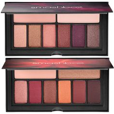 Smashbox Cover Shot Eye Palettes for Spring 2017 in 7 shade combinations: here Golden Hour and Ablaze