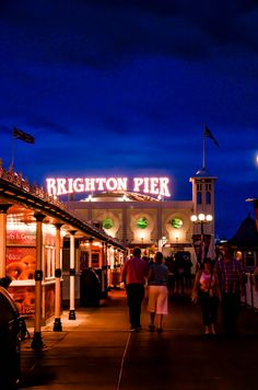 Spent our honeymoon on the pier! Brighton, England