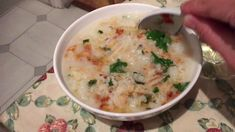 Late Supper Dried Scallops, Rice Porridge, Cheeseburger Chowder, Soup, Soups