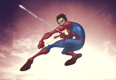 Spider-man -basic- by PatrickBrown on deviantART