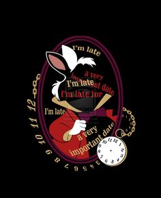 I'm late by Anlarel on deviantART