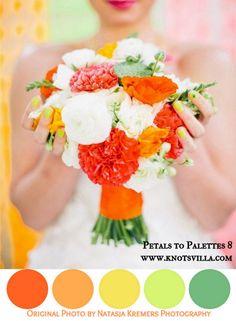 Neon Wedding Inspiration   Petals to Palettes 8 - KnotsVilla