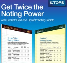 Get a $10.00 Target OR Home Depot Gift Card When you purchase $50.00 of TOPS Docket Writing Tablets  http://www.iteminfo.com/ItemInfoFiles/Extras/Rebate/TOP-Q3-10GiftCard-Tablets.pdf