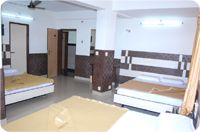 Interior of UG Regal Budget Hotels near Bus Stand