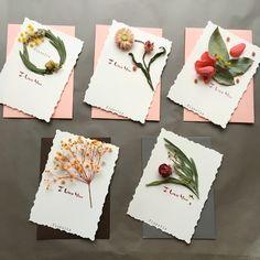 플로랄리스 드라이 플라워 카드 - floralis dry flower card