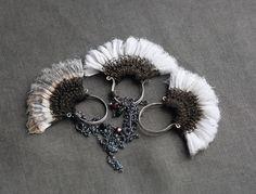 three thistles pendants by Tinctory on Flickr