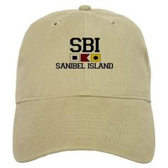 Sanibel Island FL - Nautical Design Baseball Cap on CafePress.com