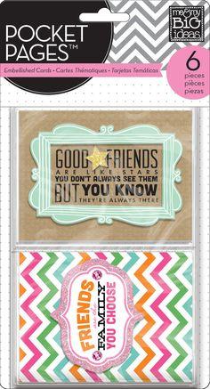 Embellished Cards - Friends
