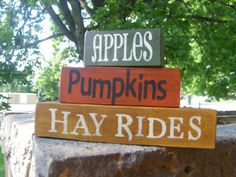 FALL SAmPleR HaNdPaiNtEd WooD SiGn ThAnKsGiViNg by DAWNSPAINTING