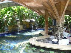 Baldi Hot Springs Hotel Resort & Spa Swim up bar in the hot springs. Arenal Volcano, Costa Rica