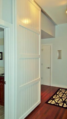 Sliding Doors- I need this to temporary close off a section of the house. I am going to make a small version then maybe upscale it.