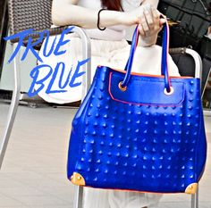 Feel like a true blue royal this weekend with this Parisian Bag. #smcitymanila