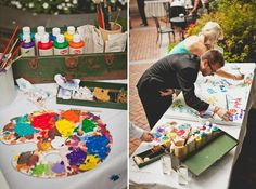 Art-Inspired Wedding Details That Creative Couples Will Love