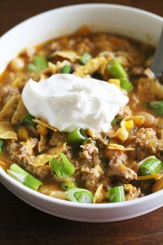am so in love with this chili and I think you will be too. It's easy ...