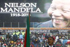 """Hommage mondial: Barack Obama salue un """"géant de l'histoire"""""""