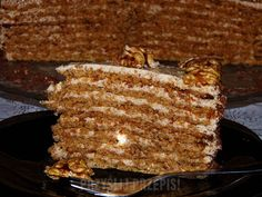 Tort rumuński Food And Drink, Bread, Cookies, Cake, Recipes, Crack Crackers, Brot, Biscuits, Kuchen