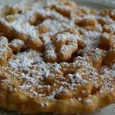 Classic Funnel Cakes Dessert Recipe - Recipes, Dinner Ideas, Healthy Recipes & Food Guide