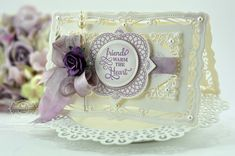 Becca Feeken card using Radiant Rectangles, For All You Do Vintage Labels Three, Circle of Love