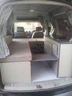 Fiat Doblo camper van conversion based in wrexham North Wales Van Conversion Campervan, Vw Camper Conversions, Van Conversion Interior, Van Interior, Kombi Camper, 4x4 Camper Van, Kombi Home, Mini Camper, Berlingo Camper