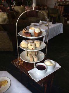 Afternoon tea treat @ Stapleford Park