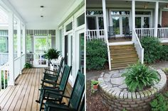 Difference between a terrace and balcony difference between balcony and patio differences between a porch and veranda difference between porch patio deck veranda and a lanai What Is The Difference … House Design, Cottage, House, Small Spaces, Porch And Balcony, Diy Backyard, Porch, Exterior, Balcony