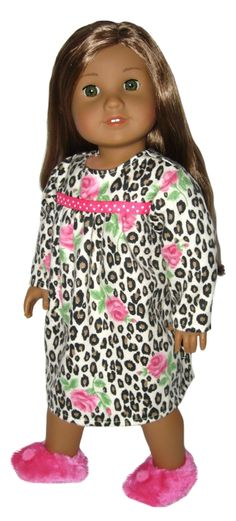Silly Monkey - Animal Print and Roses Flannel Nightgown, $14.99 (http://www.silly-monkey.com/products/animal-print-and-roses-flannel-nightgown.html)