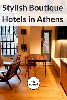 Boutique Hotels in Athens, Greece - Where to Stay in Style  #Athens #Greece #design #style #hotels #boutique #travel #blogger #europe #luxury #trip #vacation #holiday