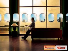 SBA airlines. Print Campaign. on Behance