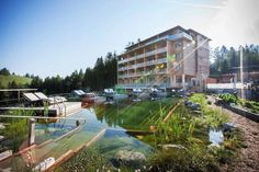 Urlaub auf der Alm: Almwellness Hotel Pierer - The Chill Report Hotels, Romance, Mansions, House Styles, Air Fresh, Recovery, Time Out, Water Pond, Nature