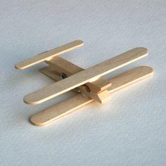 popsiclestickclothespinairplanecrafteasysimple