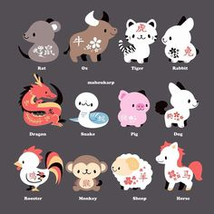 Chinese Zodiac is cool... Right?