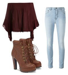 """Untitled #115"" by mburghardt on Polyvore featuring Sans Souci and JustFab"