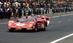 Ferrari 512  The Scuderia's wailing five-litre V12 512S prototype was built to take on Porsche's 917 in 1970 - and later modified to M-spec. The car won at Sebring, but could only manage fourth at Le Mans. Vanquished by Porsche on track, its sublime looks and starring role in Steve McQueen's epic Le Mans warrant its inclusion here