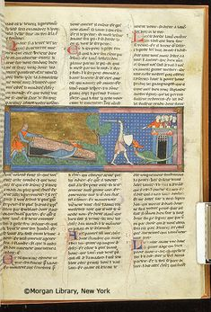 Lancelot du Lac, MS M.805 fol. 241r - Images from Medieval and Renaissance Manuscripts - The Morgan Library & Museum