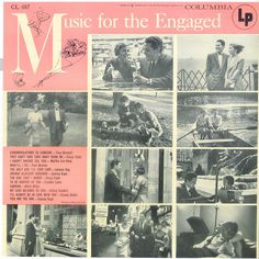 I got to thinking. What is the difference between 'music for dating' , 'for engaged couples', and for 'married couples'? Then I figured with the 'engaged music' there must be very subtle nagging going on in the background.