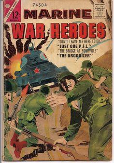Charlton Comics MARINE WAR HEROES #5 1964