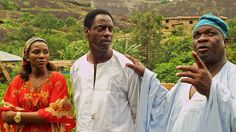 Nollywood - Doctor Bello -  features  Isaiah Washington, center; Genevieve Nnaji, left; and Olumide Bakare.