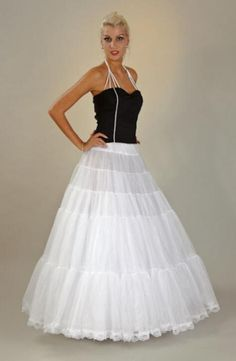 Petticoat, soft fluffy fullness, perfect for a wedding gown!