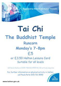 Tai chi Runcorn Buddhist Temple