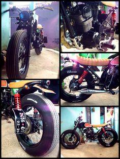 #Moto #Bike #Honda #GL3 #Megapro #Bratstyle #Japstyle #StreetTracker #StreetCub #CafeRacer #Bobber #Bandung #Cimahi #JawaBarat #WestJava #Indonesia