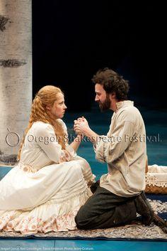 Oregon Shakespeare Festival. SEAGULL (2012): Nell Geisslinger and Tasso Feldman. Photo: Jenny Graham.