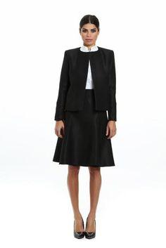 Simply black jacket Social Club, White Cotton, Coat, Skirts, Designers, Jackets, Black, Style, Fashion