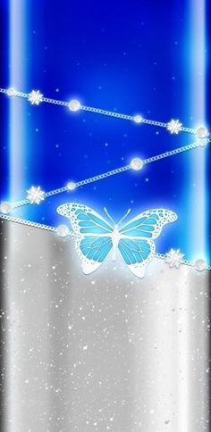 Mermaid Wallpapers, Blue Wallpapers, Wallpaper Backgrounds, Butterfly Wallpaper, Butterfly Art, Periwinkle Blue, Beautiful Pictures, Walls, Neon Signs