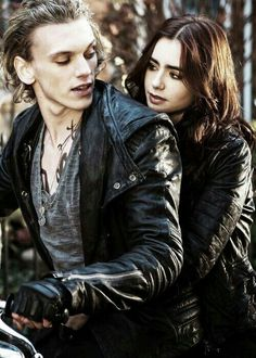 Jamie Campbell Bower and Lily Collins♥ The Mortal Instruments: City of Bones