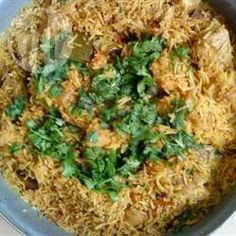 Recipe Picture:Classic Chicken Biryani