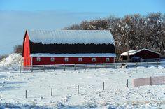 Red Barn by pokoroto, via Flickr